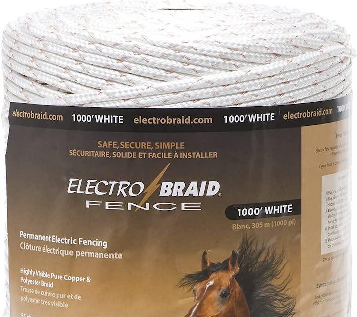 ElectroBraid® PBRC1000W2-EB Horse Fence Conductor Reel
