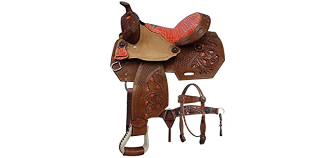Double T Pony - Youth Saddle
