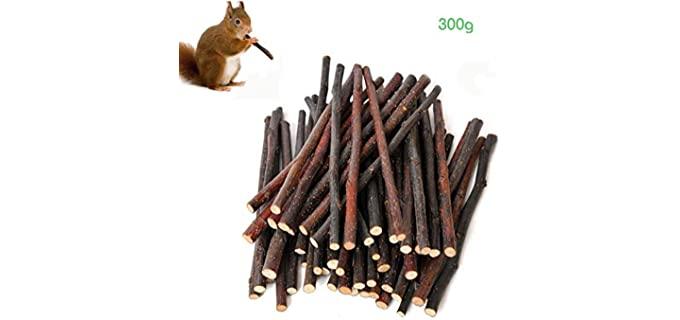 Simona Micah Organic Apple Sticks - Food For Rabbits