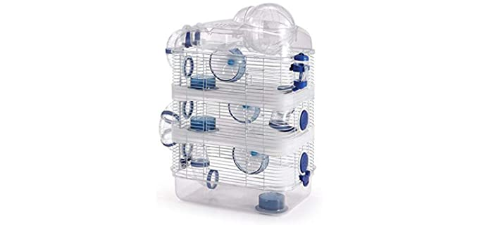 Mcage 4 Level Hamster Habitat - Cage for Hamsters