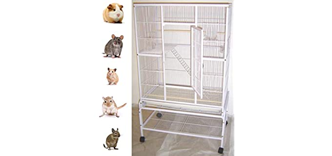 Mcage 4-LevelNew Large Wrought Iron Cage - Sugar Glider's Cage