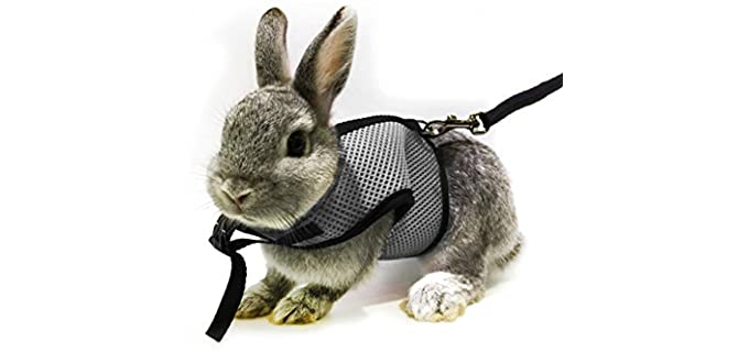 ASOCEA Adjustable Soft Harness - Rabbit's Harness