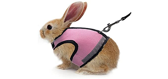ATAILOVE Adjustable - Harness for Rabbits