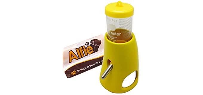 Alfie Pet 2-in-1 Water Bottle Hut - Water Bottle for Hamsters