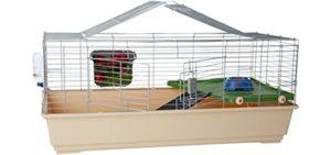 AmazonBasics Pet Habitat - Indoor Rabbit's Cage