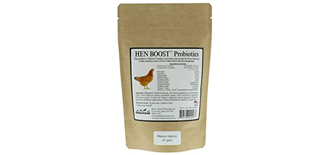 Animal Health Solutions Hen Boost - Vitamins for Your Chicken