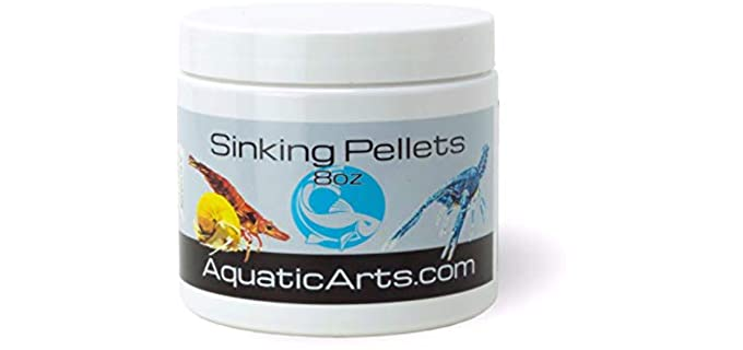 Aquatic Arts Sinking Pellets - Food for Hermit Crabs