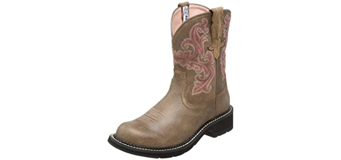 Ariat Women's Fatbaby Collection Western Cowboy Boot - Horse Riding Boots