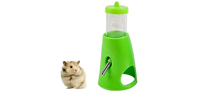 C Small Animals Hideout Drinking Waterer - Water Bottle for Guinea Pigs