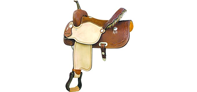 Billy Cook Saddlery High River - Roper Saddle