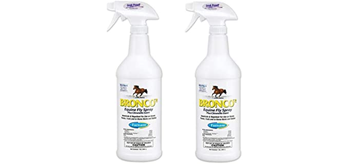 Farnam Bronco e Equine - Citronella Horses Fly Repellent Spray