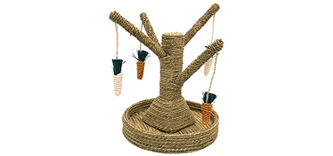 Rosewood Pet Bunny Fun Tree - Toy for Rabbits