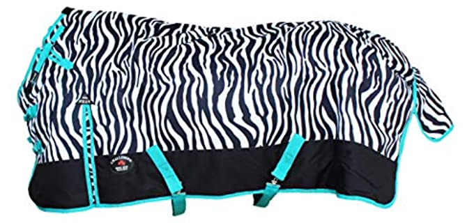 Challenger 1200D Turnout Waterproof Horse Winter Blanket Heavy 547G - Fly Sheet for Horses