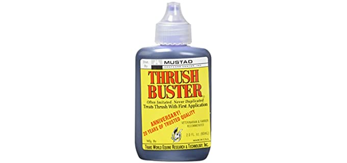 Capewell Thrush Buster - Treatment for Thrush in Horses