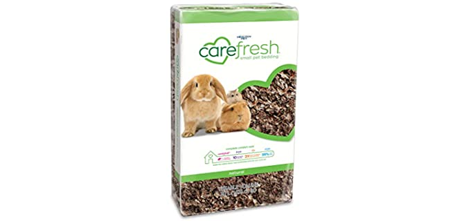 Carefresh  Natural Small Pet Bedding - Substrate and Bedding for Rats