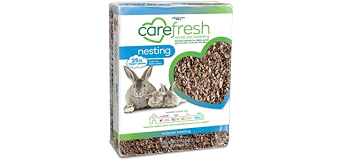 Carefresh Natural Premium Soft Pet Bedding - Bedding for Hedgehogs
