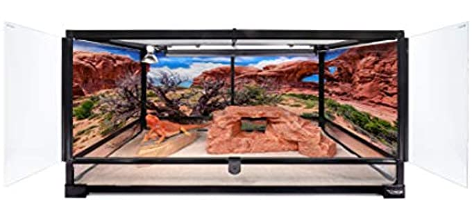 Carolina Custom Cages Large Terrarium - Corn Snake Enclosures