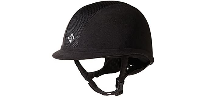 Charles Owen AYR8 Helmet - Helmet for Horse Riding