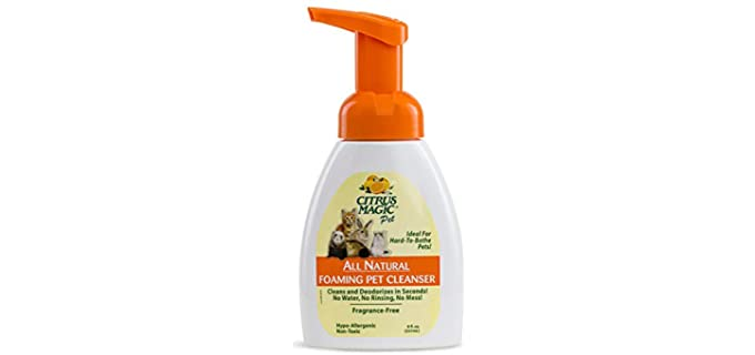 Citrus Magic Foaming Pet Cleanser - Guinea Pig's Shampoo