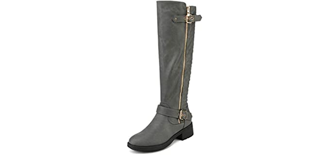 Dream Pairs Women's Knee High Riding Boots - Boots for Horse Riding