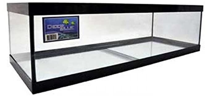 Deep Blue Professional Standard Glass Aquarium Tank - Enclosure for Ball Pythons