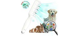 Anysun Pets Hair Grooming Kit - Grooming Brush for Rabbits