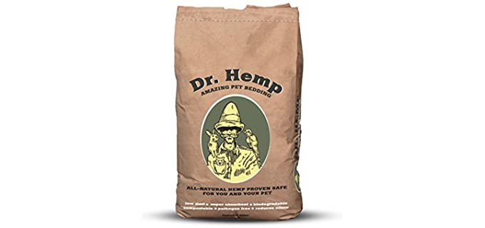 Hemp All Natural Pet Bedding - Bedding for Hedgehogs