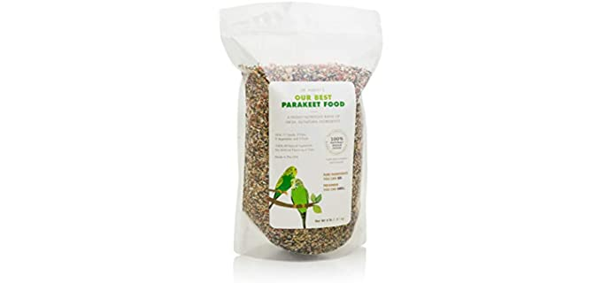Dr. Harvey's Our Best - Parakeet Food