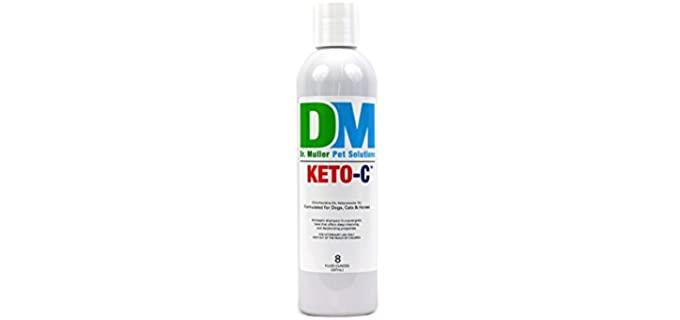 Dr. Muller Pet Solutions Keto-C Shampoo - Shampoo for Horses
