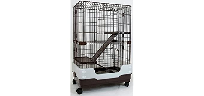 Dreamhome Heavy-Duty Chinchilla Cage - Chinchilla Cage
