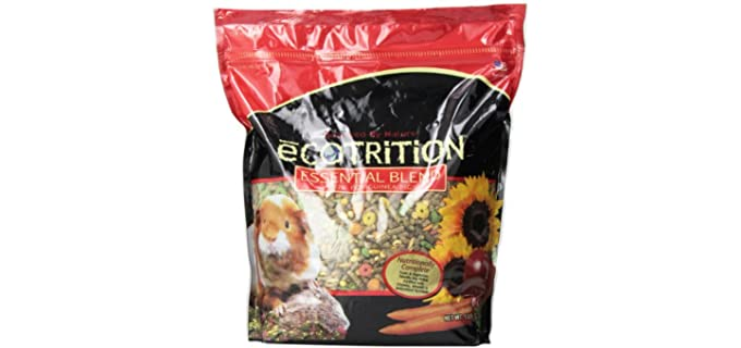 eCOTRITION Essential Blend Guinea Pig Food - Food for Guinea Pigs