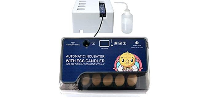 Triocottage Incubator - Incubator for Chicken Eggs