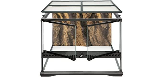 Exo Terra Short All-Glass Terrarium - Ball Python Cage