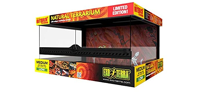 Exo Terra Outback Terrarium - Corn Snake Enclosures