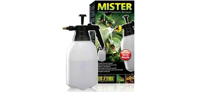 Exo Terra Mister Portable Pressure Sprayer - Fogger and Humidifier for Reptiles
