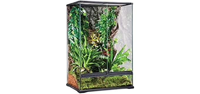 Exo Terra High All-Glass Terrarium - Enclosure for Ball Pythons
