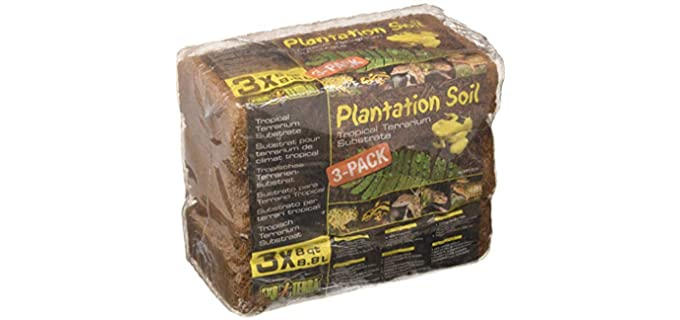 Exo Terra Plantation Soil Substrate - Substrate For Hermit Crabs