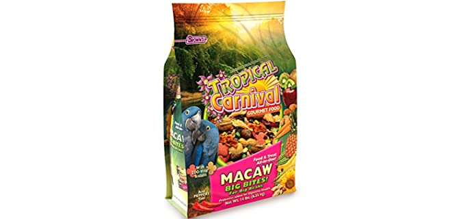 M. Brown's Tropical Gourmet - Food for Your Parrot