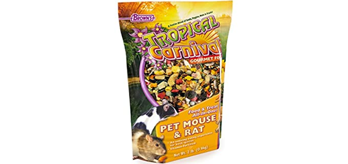 F.M. Brown's Tropical Carnival Gourmet Rat Food - Rat Food