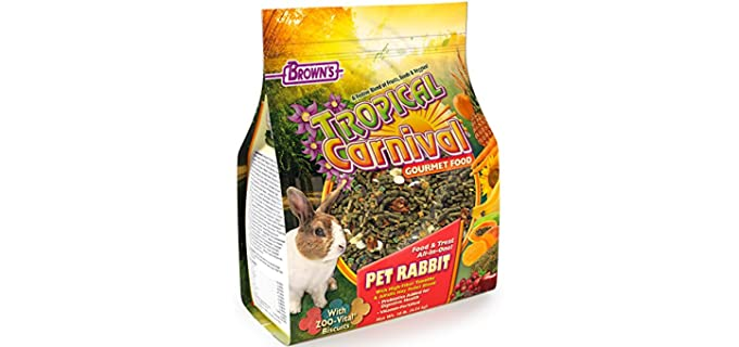 F.M Brown's Tropical Carnival - Food for Your Rabbit