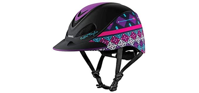 Troxel Fallon Taylor Riding Helmet - Horse Riding Helmet