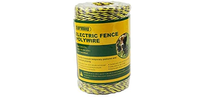 FamilyPortable Electric Fence Polywire - Electric Fences for Horses