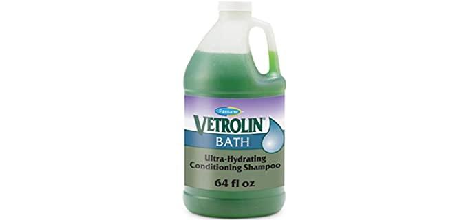 Farnam Vetrolin Ultra-Hydrating Conditioning Shampoo - Horse shampoo