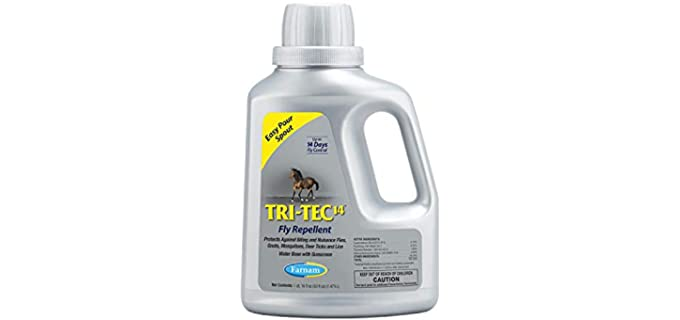 Farnam Tri-Tec 14 Fly Repellent - Fly Spray for Horses