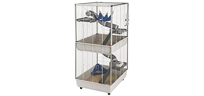 Ferplast Tower - Two-Story Ferret Cage