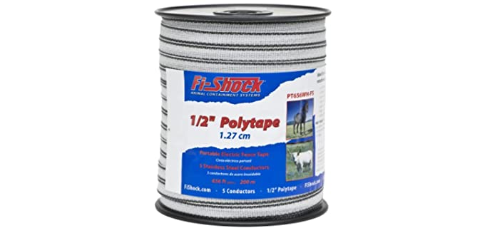 Fi-Shock Polytape Fence - Electric Fencing for Horses