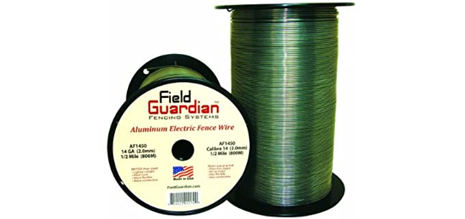 Field Guardian Aluminum Wire Fence - Electric Fences for Horses
