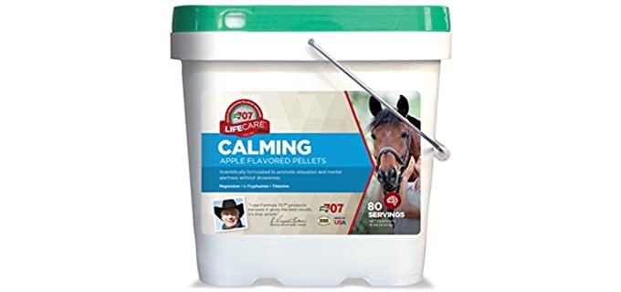 Formula 707 Calming Equine Supplement - Horse Calming Supplements