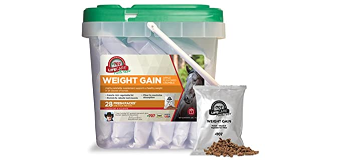 Formula 707 Daily Fresh Packs Equine Supplements - Horse Food for Weight Gain