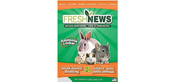 Fresh News Small Animal Paper Bedding - Chinchilla's Bedding